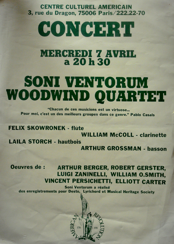 Poster from Paris